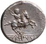 CREPUSIA. Pub. Crepusius (82 a. C.)