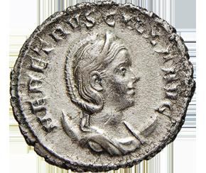 ETRUSCILLA (moglie di Traiano Decio)