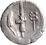 NORBANA C. Norbanus (83 a. C.)