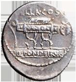 POMPEIA Q. Pompeius Rufus (54 a. C.)